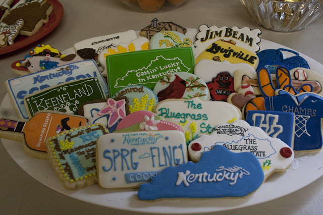 Spring Fling Kentucky cookies