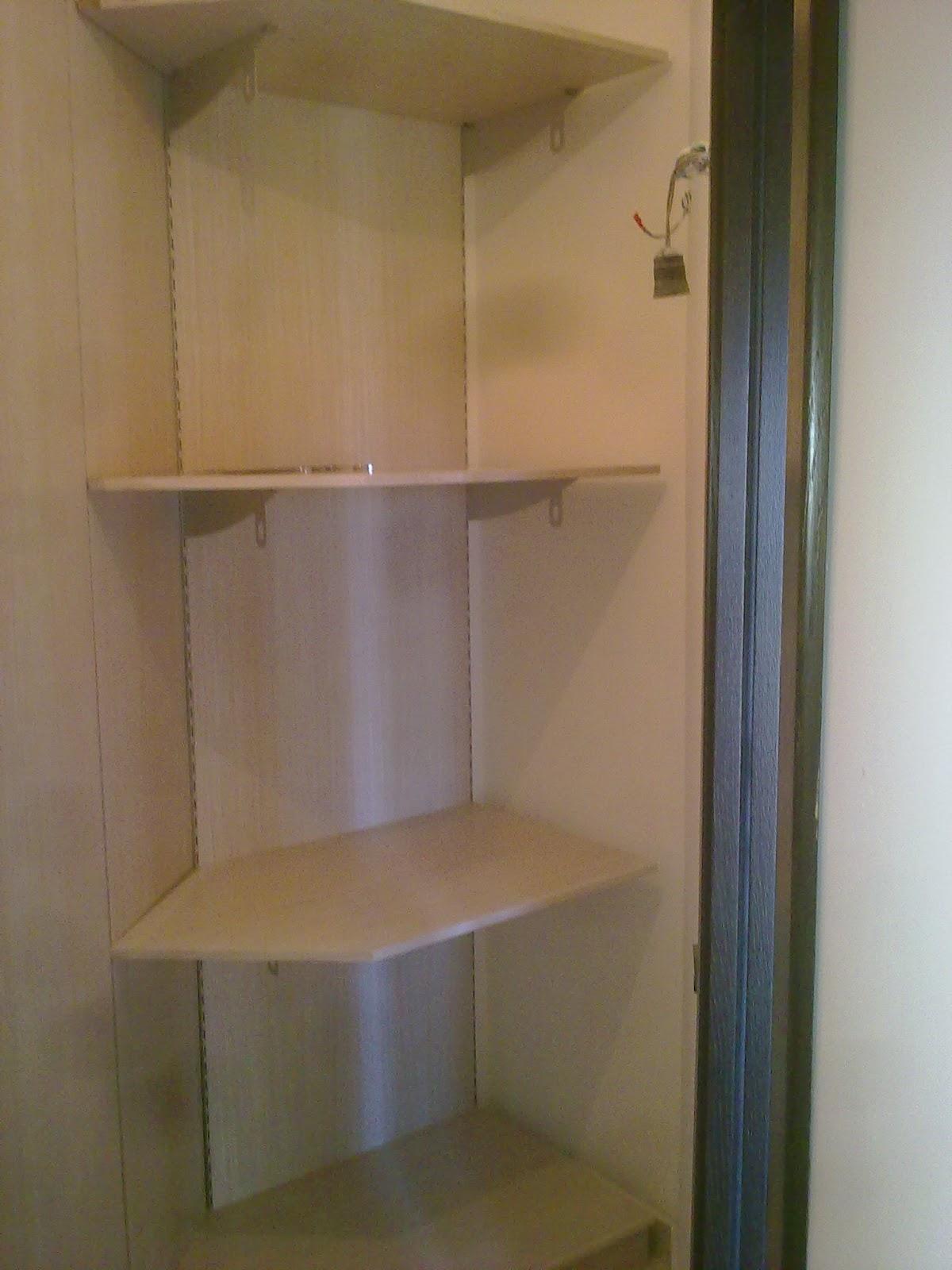 ILVECCHIOARTIGIANO: piccola cabina armadio in rovere sbiancato,lo ...