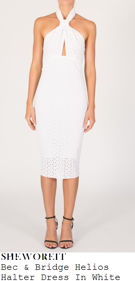 billie-faiers-white-broderie-anglaise-halter-dress-towie-marbs