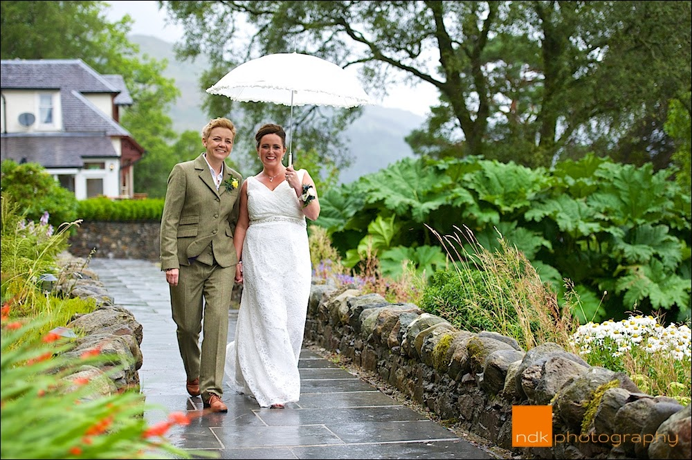 Lodge on Loch Goil Wedding Photography