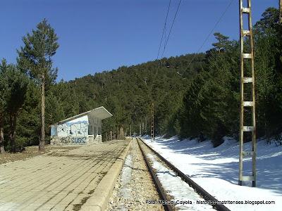 ESTACIÓN DE DOS CASTILLAS Las estaciones de tren más altas de España The highest train in Spain