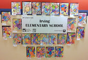 Irving Elementary School Art Projects