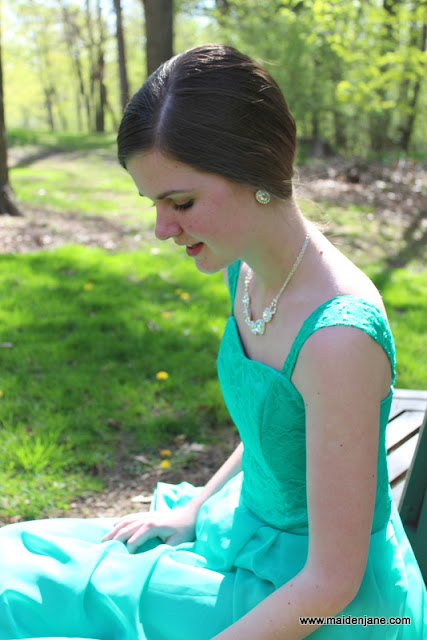 Prom 2013 – Annie's Dress Design in Jade