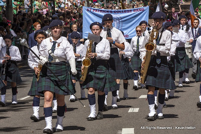 St Patrick's College Band, St Patrick's Day Parade, Sydney