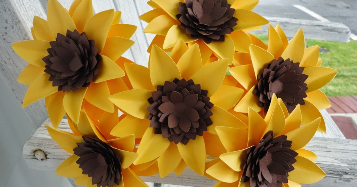 Origami Sunflower Origami Instructions Art And Craft Ideas