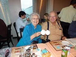 Pr. Benny e irmã Tereza