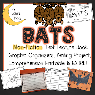 https://www.teacherspayteachers.com/Product/Bat-Text-Feature-Book-and-Writing-Activity-2110986