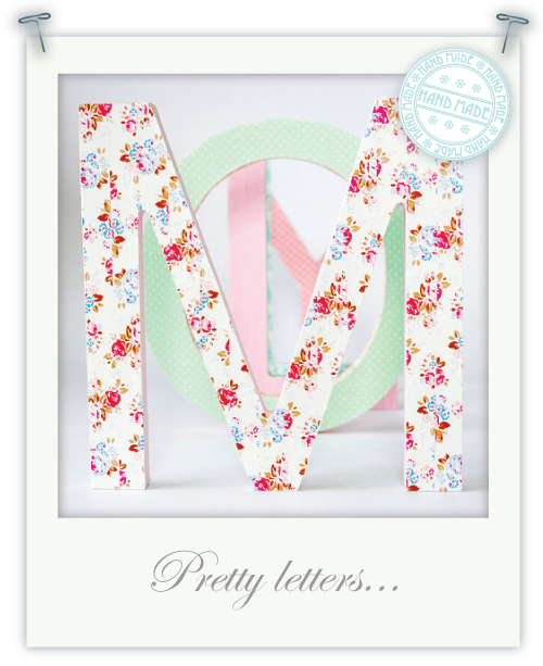 Pretty Letters by Torie Jayne