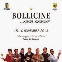 Bollicine... Mon Amour  15 e 16 Novembre Salsomaggiore Terme (PR)
