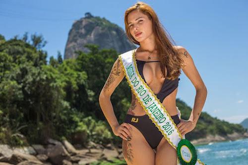 Gilliane Bonheur, musa do Rio de Janeiro