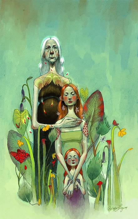 Il·lustradora: Erika Lugo