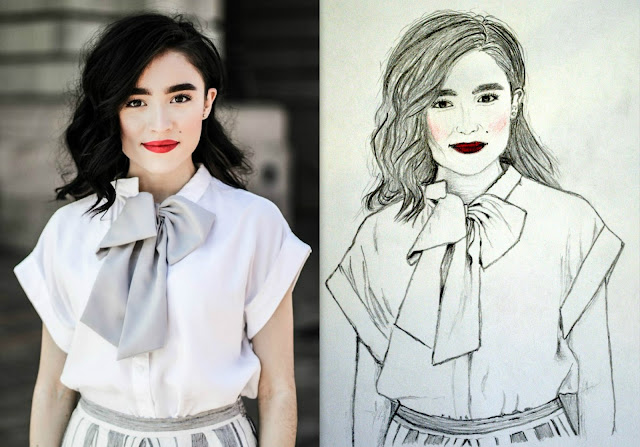 drawings, girl sketch drawing, painting, sketch, inspiration, karissa marie