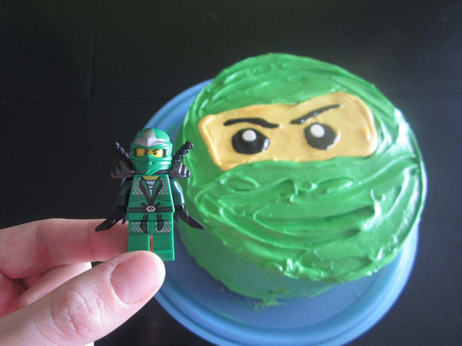 Lloyd Ninjago Cake And the ninjago cake.