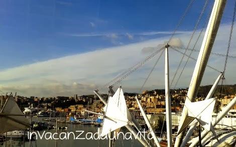 Porto Antico Genova vista da Eataly