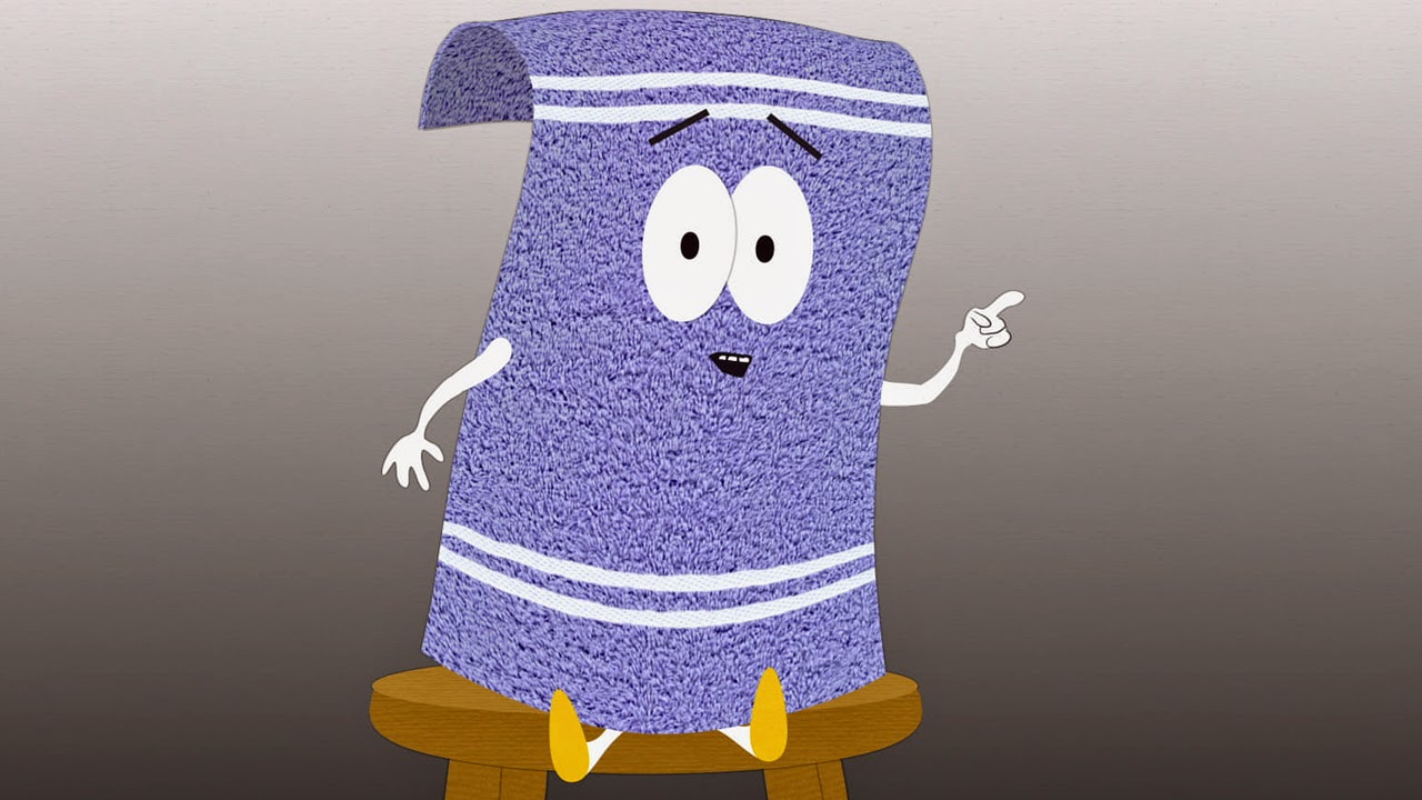 Don't forget to bring a towel, Towelie