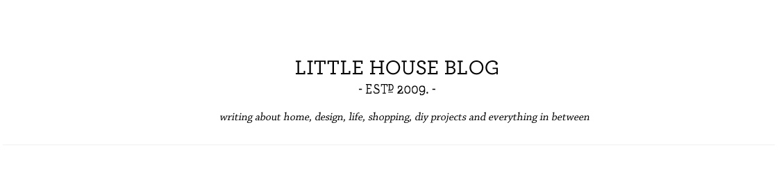 Aubrey & Lindsay's Little House Blog