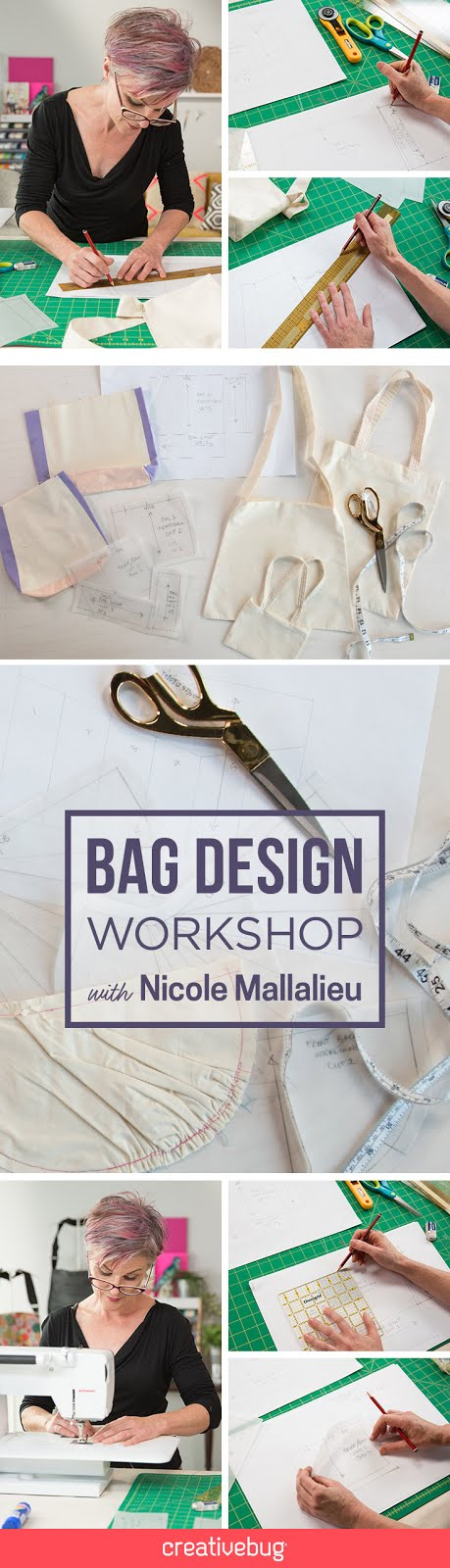 Bag Design and Patternmaking Classes