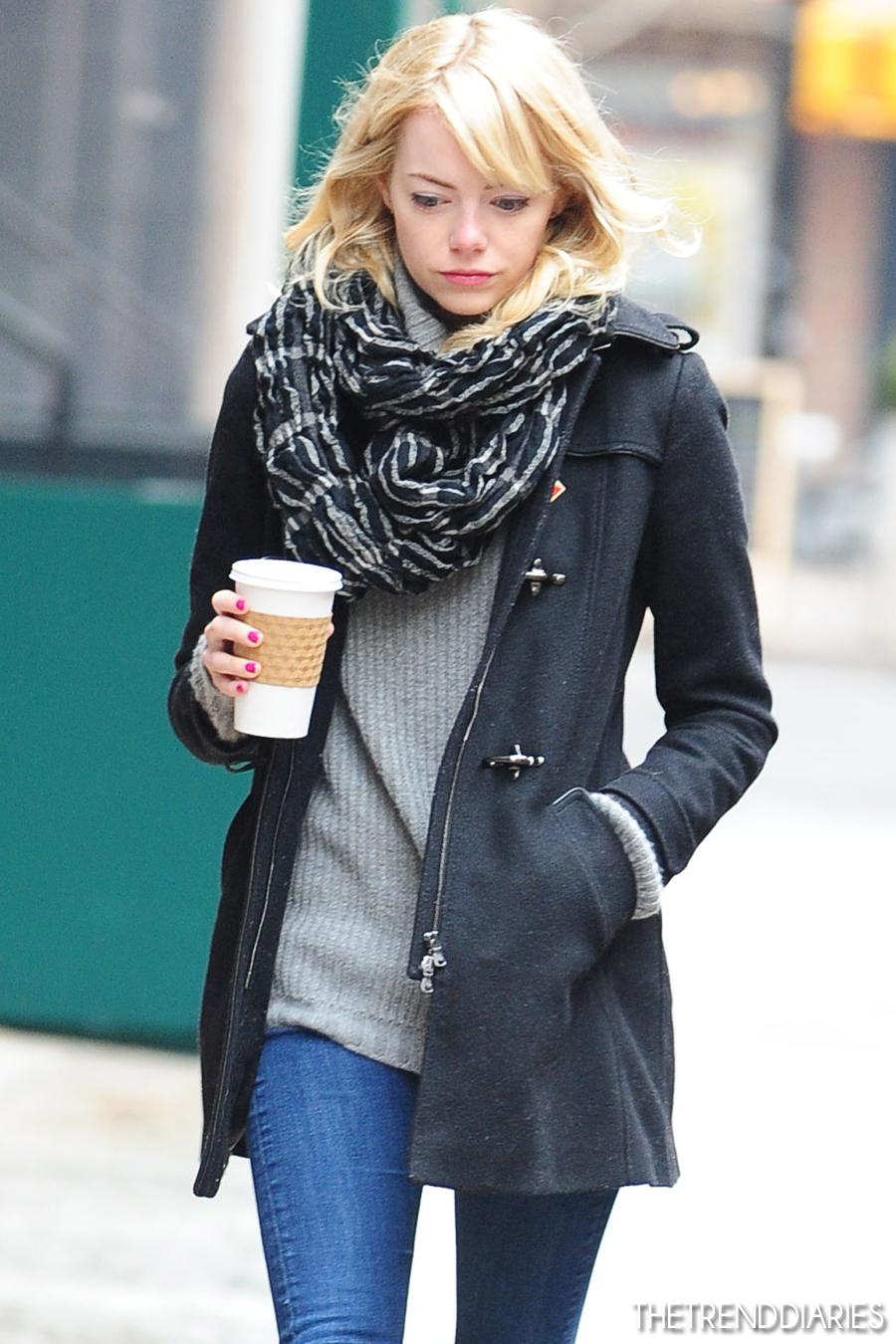 Emma Stone Street Style 2013 The Image