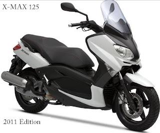 2011 Yamaha X-Max 125
