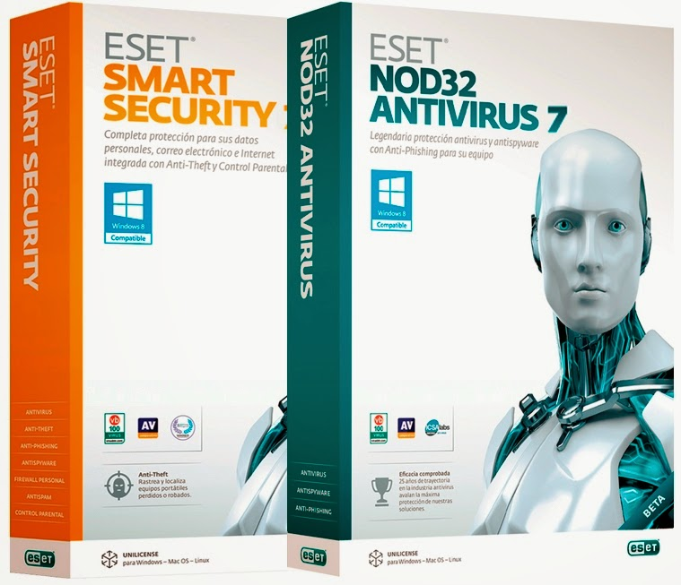 eset nod32 antivirus  for windows 7 64 bit crack