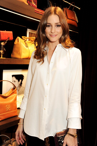 The olivia palermo lookbook olivia palermo at the launch for Carolina herrera white shirt collection