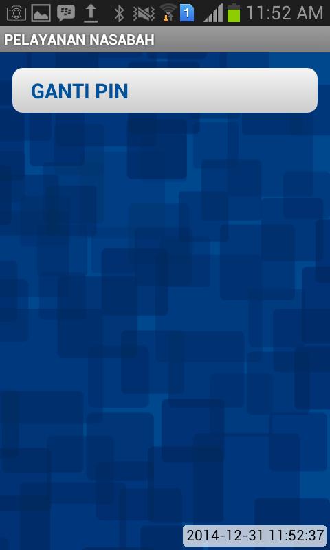 Jendela Pelayanan Nasahabh BRI Mobile - Ganti PIN