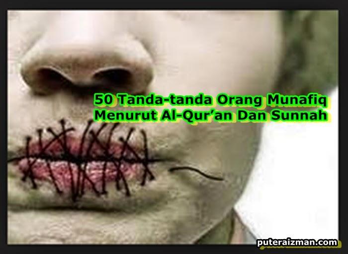 50 Tanda tanda Orang Munafiq Menurut Al Qur an Dan Sunnah