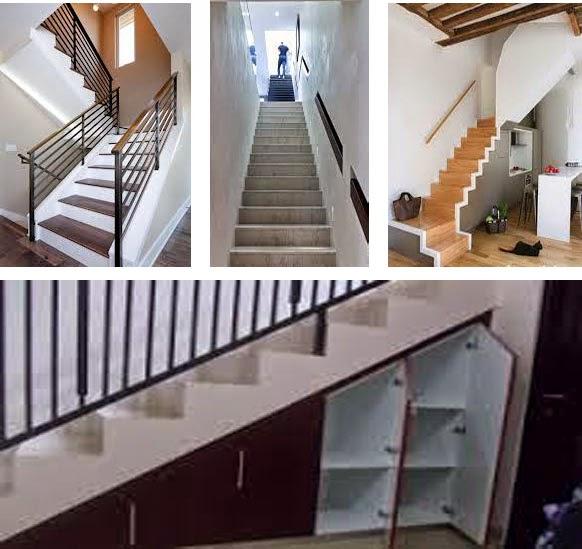 tangga rumah minimalis beton