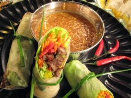 http://www.cookingchanneltv.com/recipes/nadia-g/thai-italian-spring-rolls-with-peanut-dipping-sauce.html