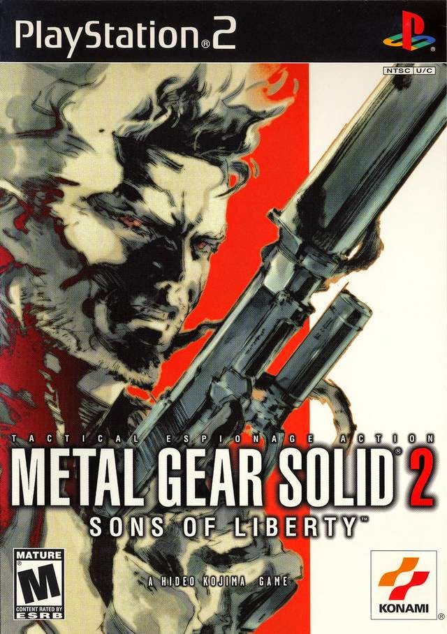 Metal Gear Solid 2 - Sons of Liberty NTSC(USA) PS2DVD