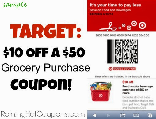 Target in store coupons or discounts