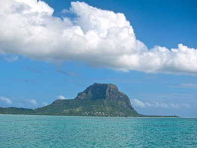 Mauritius from the sea