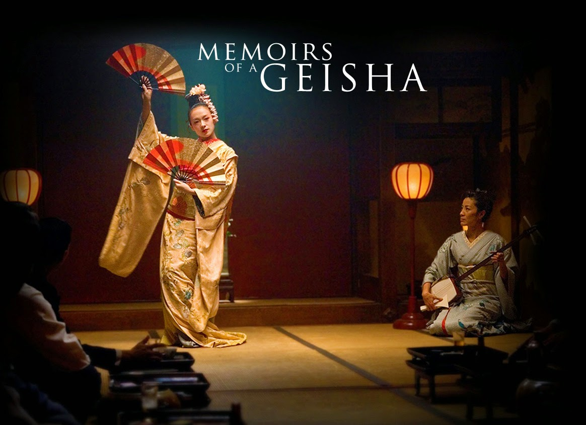 goldens memoirs of a geisha
