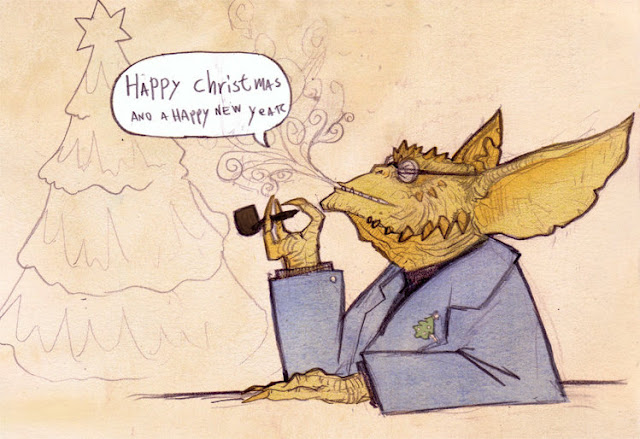 Happy Christmas Gremlin por Monkey-testical