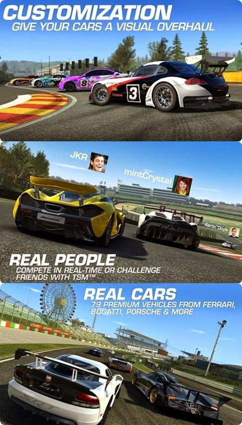 real racing 3 v3 1 0 mod apk data free shopping android andropocket
