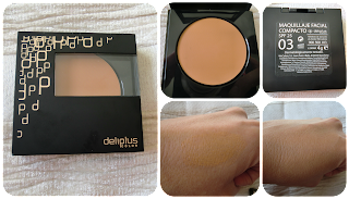 Maquillaje compacto spf25 del Kit maquillaje navidad Deliplus