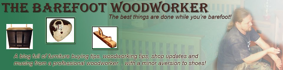 The Barefoot Woodworker