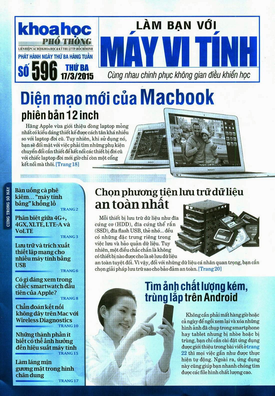 Làm Bạn Với Máy Vi Tính – 596 - tapchicntt.com
