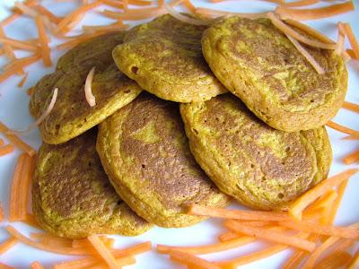 Placki marchewkowe z curry