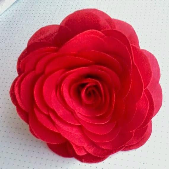 flores de tecido passo a passo como fazer rosas v deo   toda atual