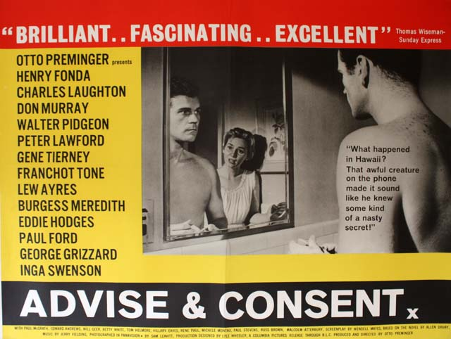 Advise and Consent (1962)