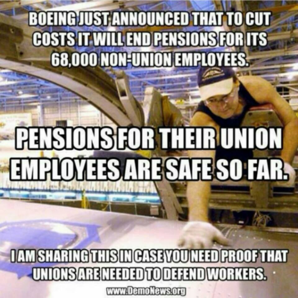 Unions Are Important