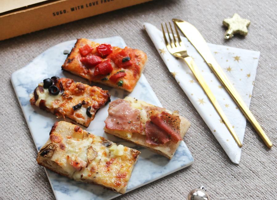 Healthy pizza: Sugo, Amsterdam