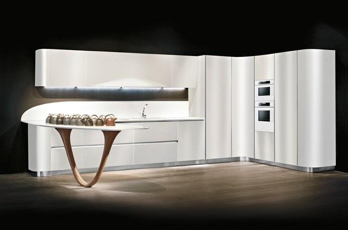 Furniture Interior Design: The kitchen Ola 20 of designer Pininfarina