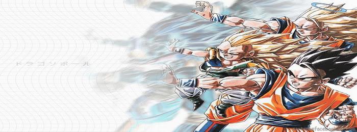 imagen de goku, gohan, gotenks para portada de facebook