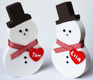 Personalised Christmas Decorations Snowman Snowmen Xmas  Baby 1st First