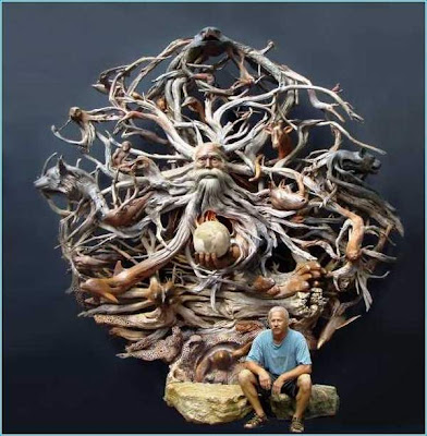 Sculpture by Paul Baliker