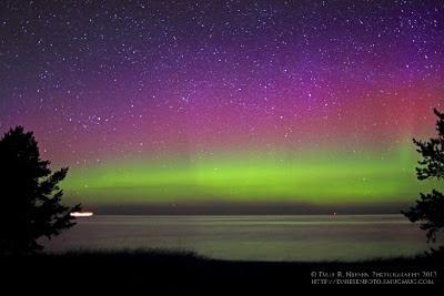 Auroras boreales 18 de Mayo 2013, Estados Unidos