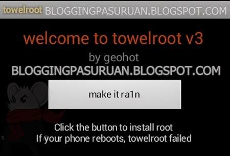 Cara Root Android dengan Towelroot