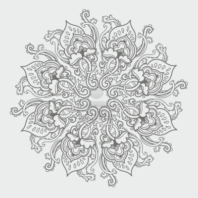 Mandalas en Asta Regia: Mandalas florales